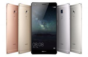 Huawei Mate S met 1 jarig abonnement